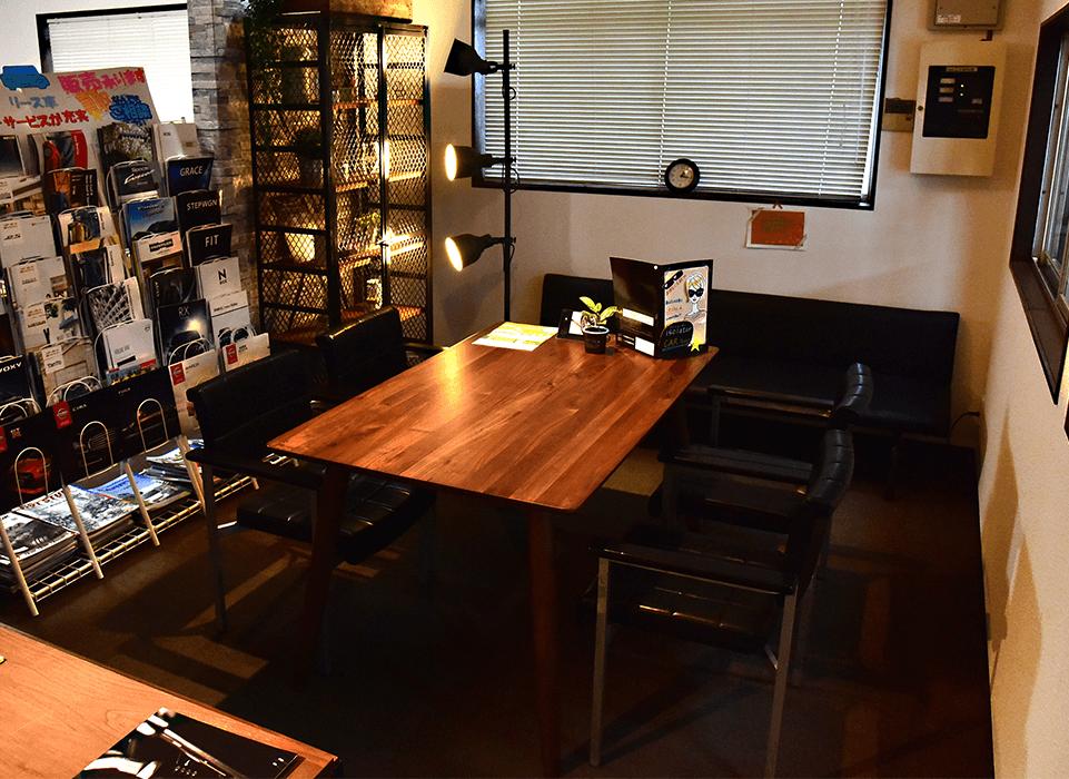 ミヤコオートサービス店内の画像