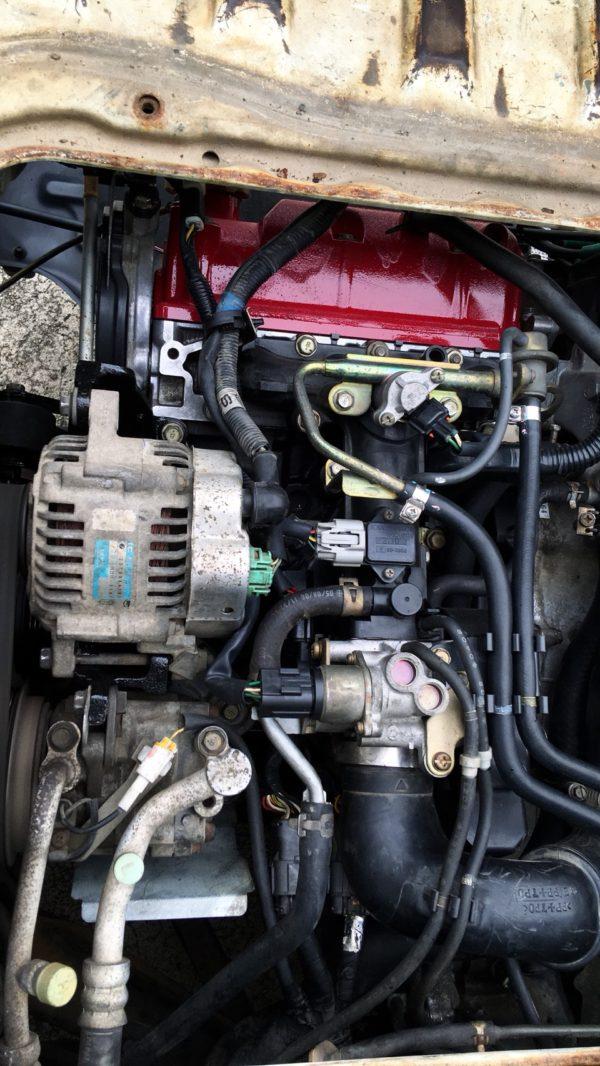 サンバー、エンジン