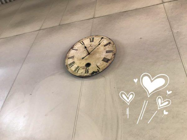 アンティーク調時計